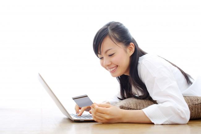 クレジットカードでオンラインショッピング