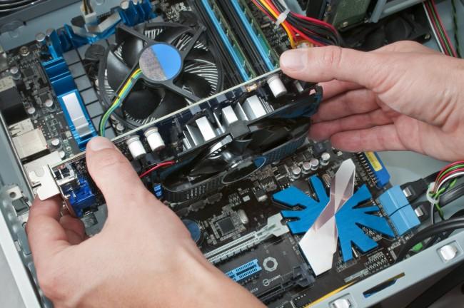パソコンの部品を交換する