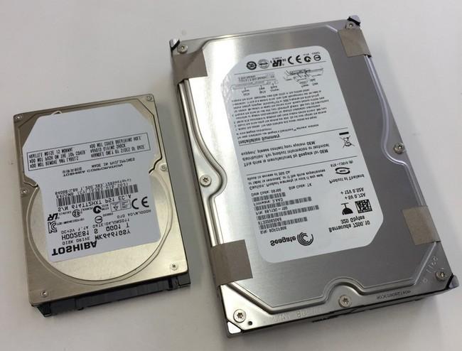 HDD2.5と3.5